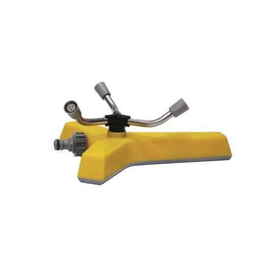 Arroseur rotatif 3 bras traineau polyéthylène Y lesté-165m²