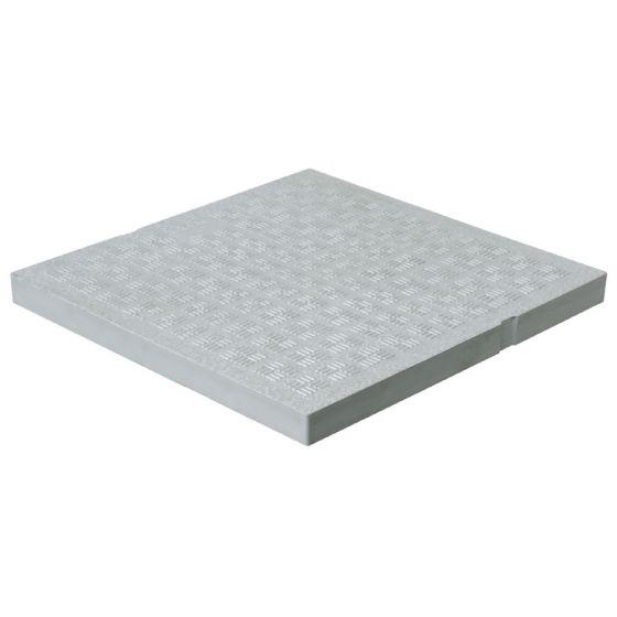 Tampon de sol renforcé PVC anti-choc - GRIS - FIRST-PLAST