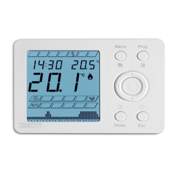 thermador thermostat ambiance programmable imit digital filaire ip20 230v. Black Bedroom Furniture Sets. Home Design Ideas