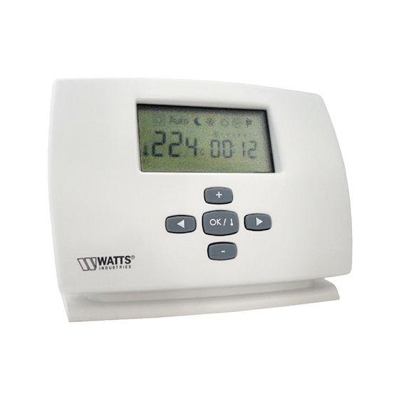 Thermostat d'ambiance digital filaire - horloge journalière - MILUX