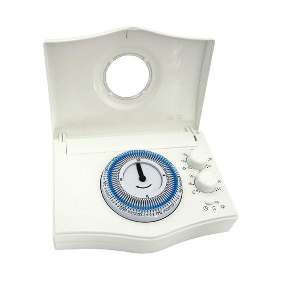 Thermostat d'ambiance filaire - horloge hebdomadaire CHRONOBAT