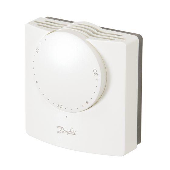 Thermostat d'ambiance électromécanique RMT 24V + résistance anticipatrice - Danfoss 087N1197