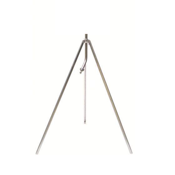"""Trépied métal télescopique pliant longueur 100 à 145 cm - filetage 3/4"""""""