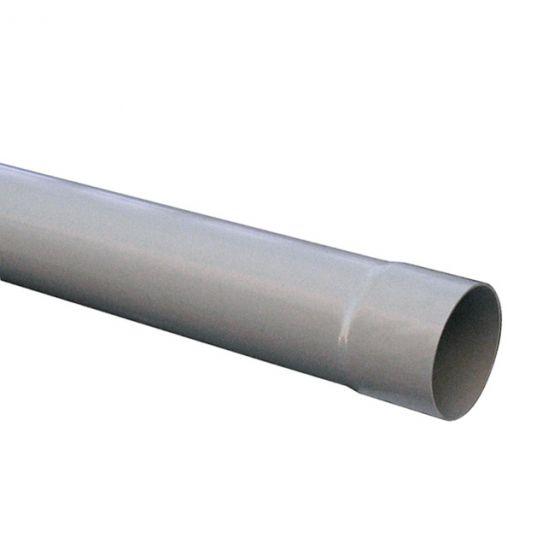 Tube de descente Ø80 gouttière PVC 25