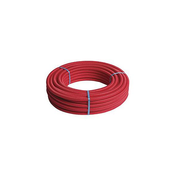 Tube multicouche pré-gainé rouge - Ø26x3,0 - Alu 0,28mm - Henco