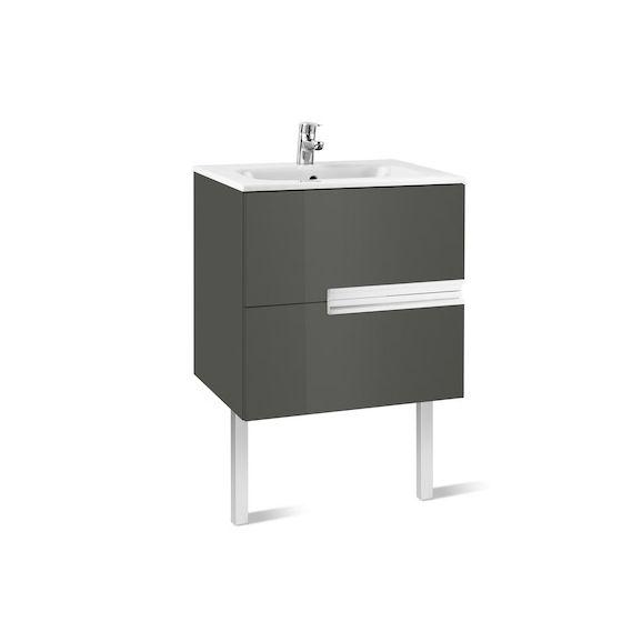 Meuble Unik VICTORIA-N 600 2tiroirs et lavabo