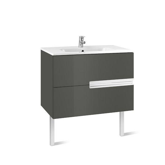 Meuble Unik VICTORIA-N 900 2tiroirs et lavabo