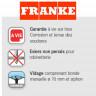 Caractéristiques Franke Inox