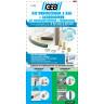 Kit déboucheur à eau + accessoires canalisations diamètre 32 à 40mm (2)