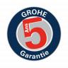 Garantie GROHE 5 ans