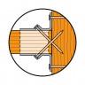 Pointe annelée électrozinguée CNA (4)