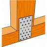Plaque perforée NP pour liaison charpente (3)