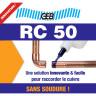 Résine RC 50 GEB pour raccorder le cuivre et laiton sans soudure (2)