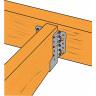 Sabot de charpente à ailes extérieures SBE largeur 51mm (5)