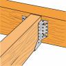 Sabot de charpente acier à ailes extérieures SAE340 (4)