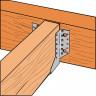 Sabot de charpente à ailes extérieures SAE440 largeur 80mm (3)