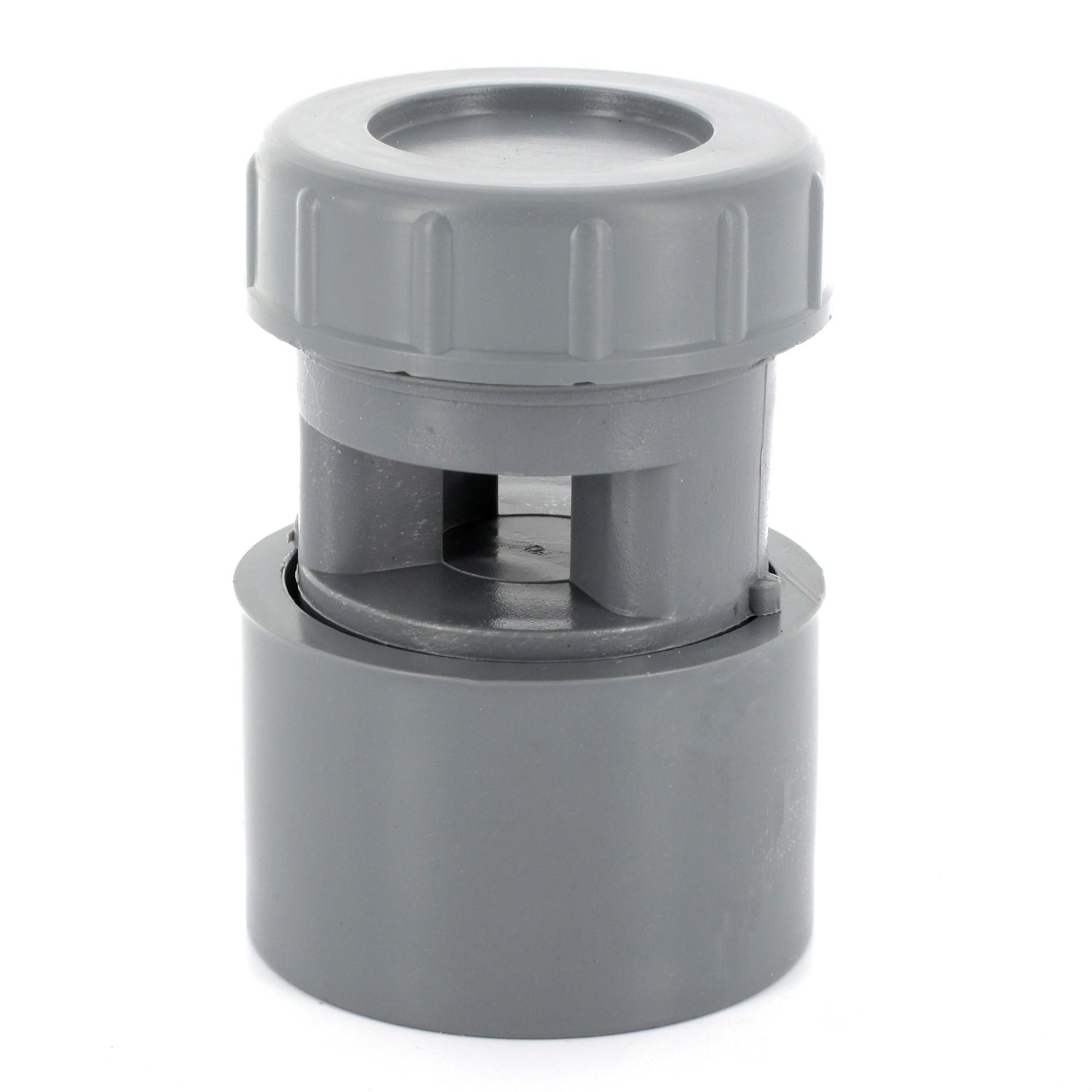 A rateur membrane pvc diam tre 32 40 ou 50 - Clapet anti odeur pvc ...