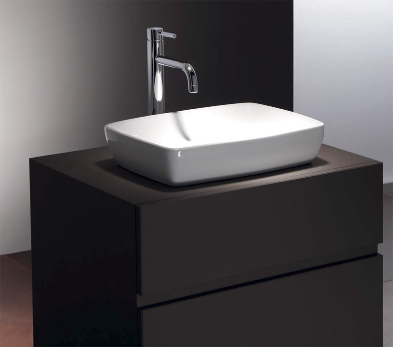 lavabo poser c ramique h10 anjou connectique. Black Bedroom Furniture Sets. Home Design Ideas