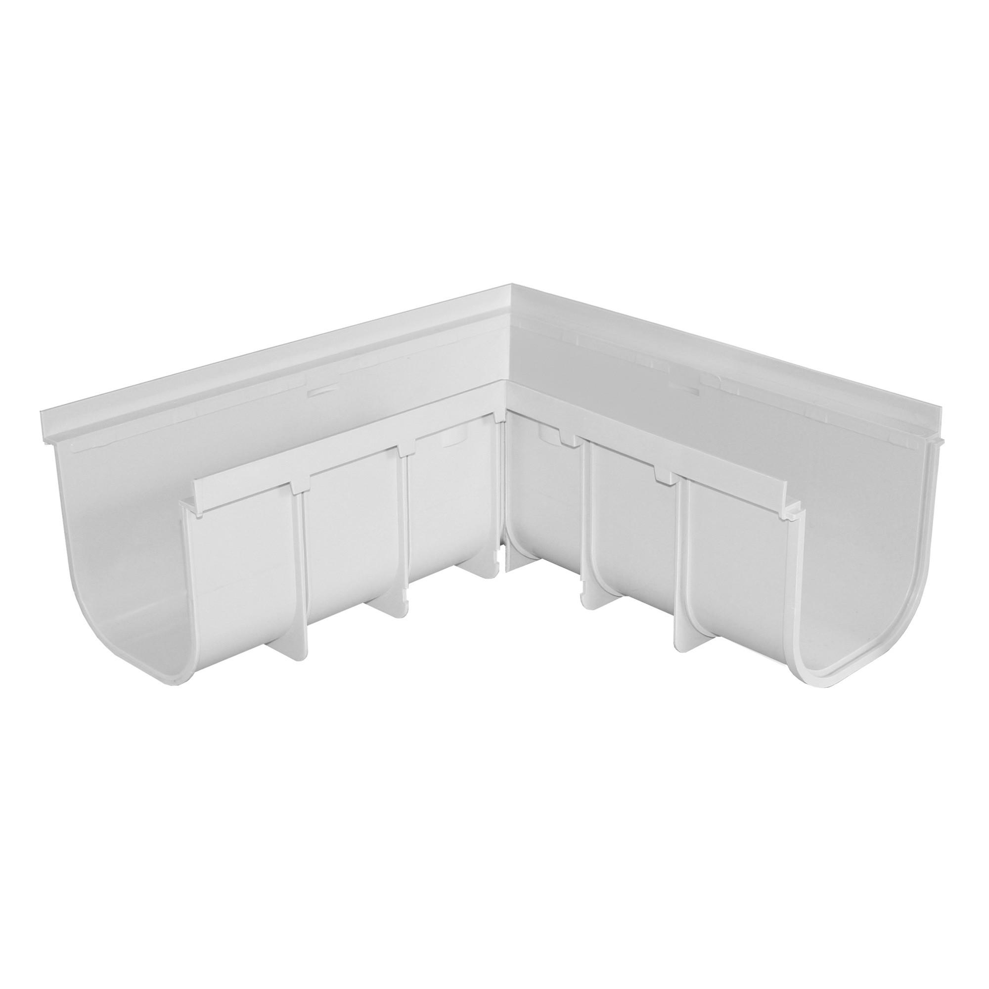 angle gauche pour caniveau pvc s rie 200 haut anjou. Black Bedroom Furniture Sets. Home Design Ideas