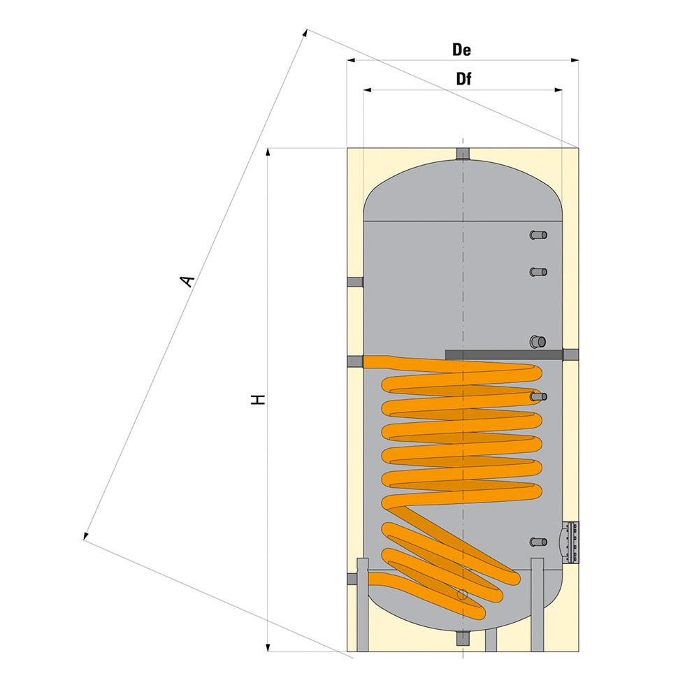Ballon production accumulation eau chaude sanitaire anjou connectique - Isolation ballon eau chaude ...