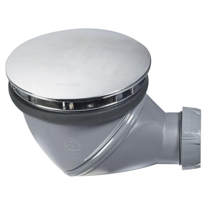 Bonde de douche james horizontale verticale 90 mm anjou connectique - Bonde de douche verticale ...