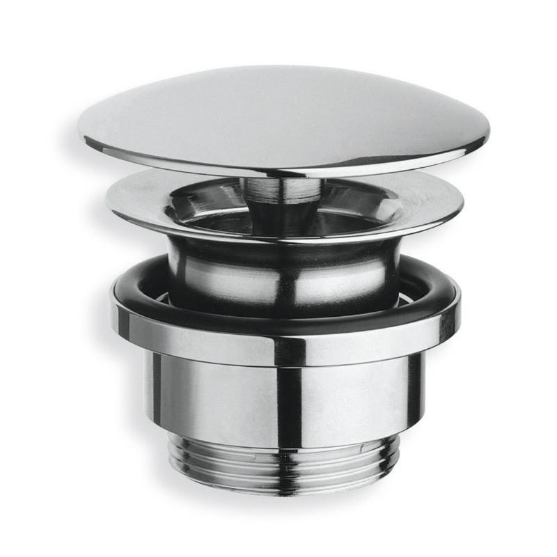 bonde lavabo laiton chrom coulement libre bouchon 72mm anjou connectique. Black Bedroom Furniture Sets. Home Design Ideas