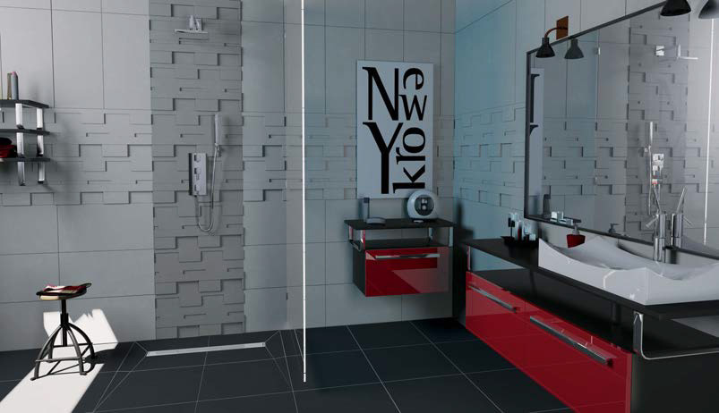 caniveau douche italienne venisio expert grille inox. Black Bedroom Furniture Sets. Home Design Ideas