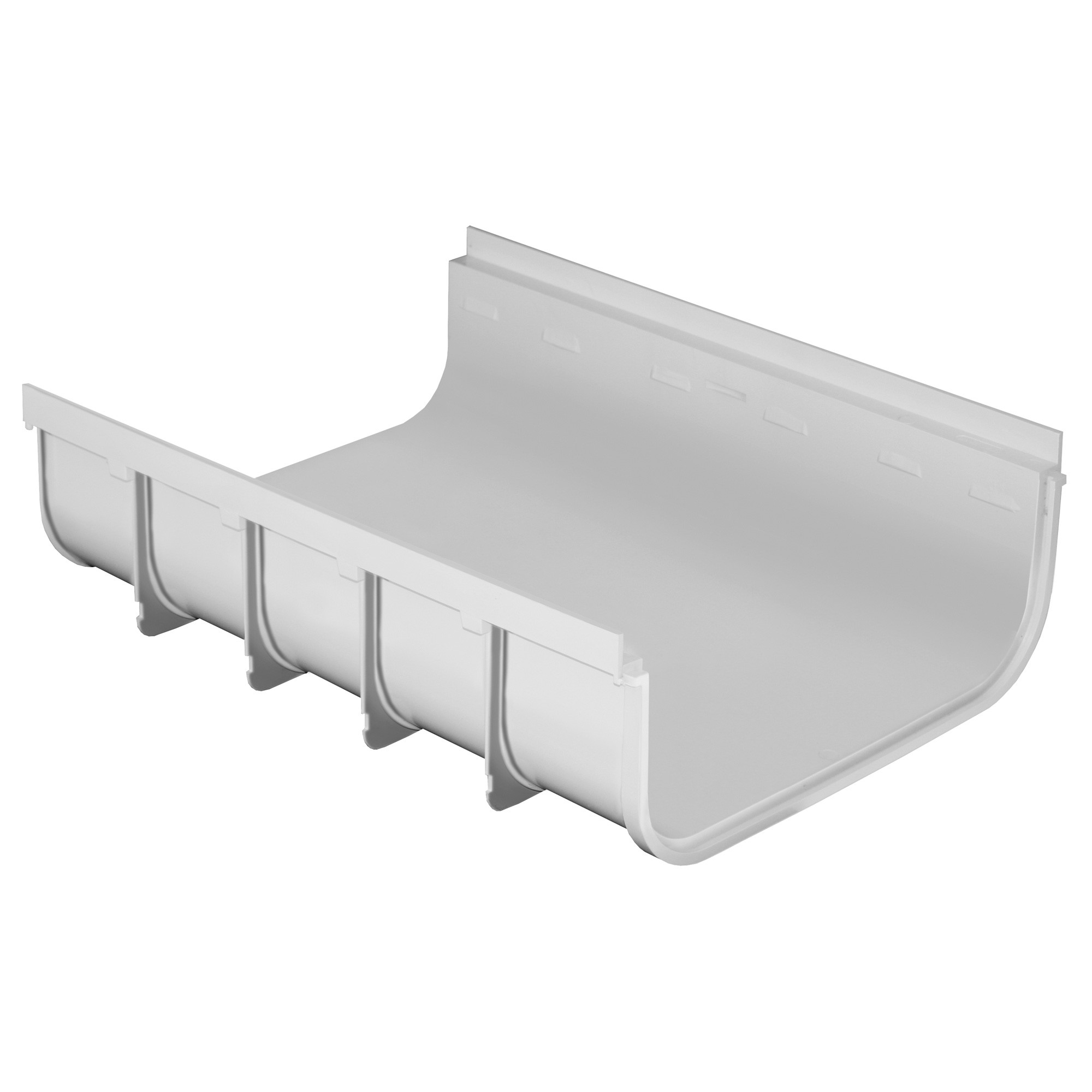 caniveau pvc s rie 400 bas 400x175x500mm anjou connectique. Black Bedroom Furniture Sets. Home Design Ideas