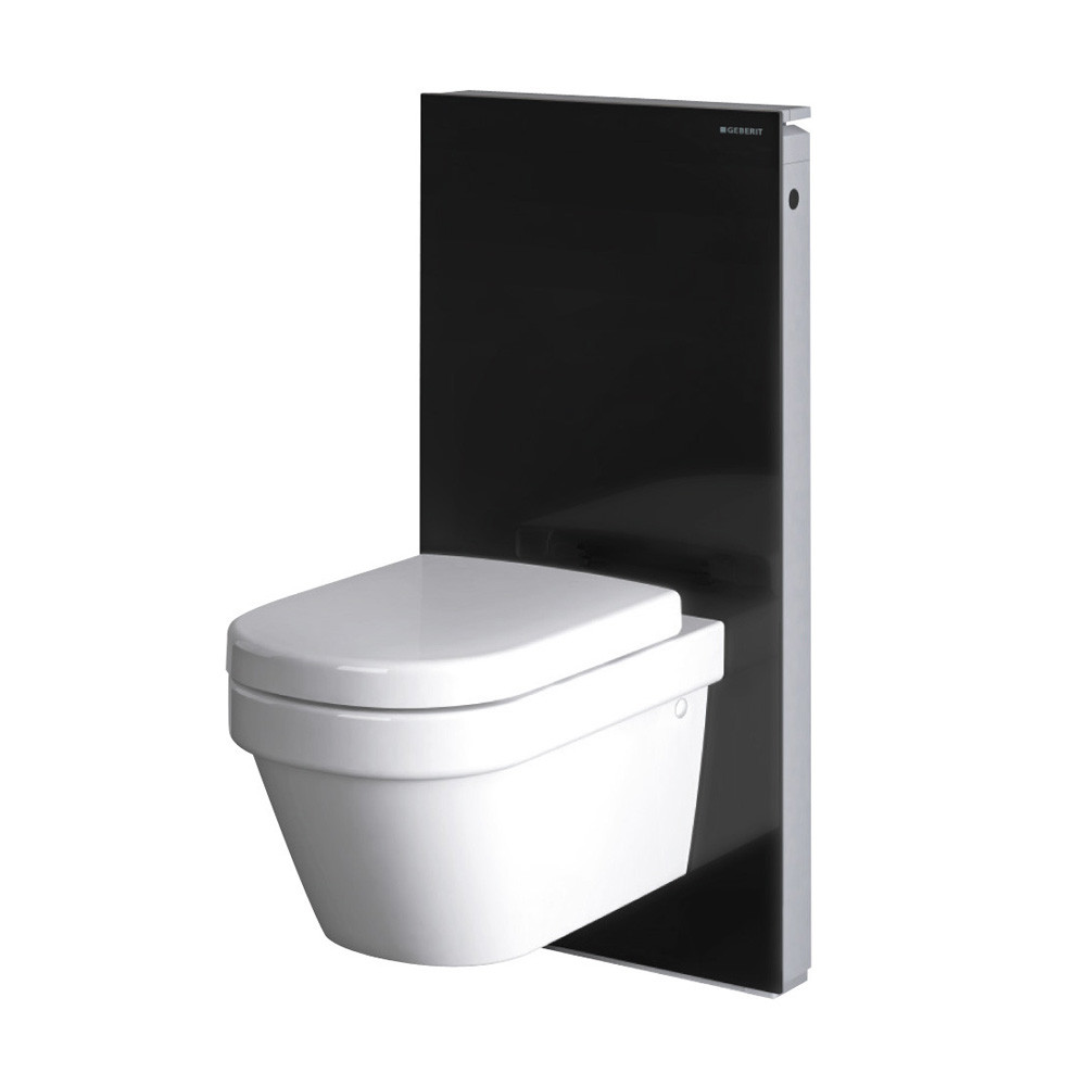 geberit panneau monolith pour wc suspendu noir anjou. Black Bedroom Furniture Sets. Home Design Ideas