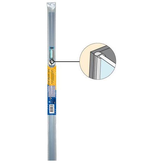 joint tubulaire c t de porte de douche verre 5 8mm 1 95ml anjou connectique. Black Bedroom Furniture Sets. Home Design Ideas