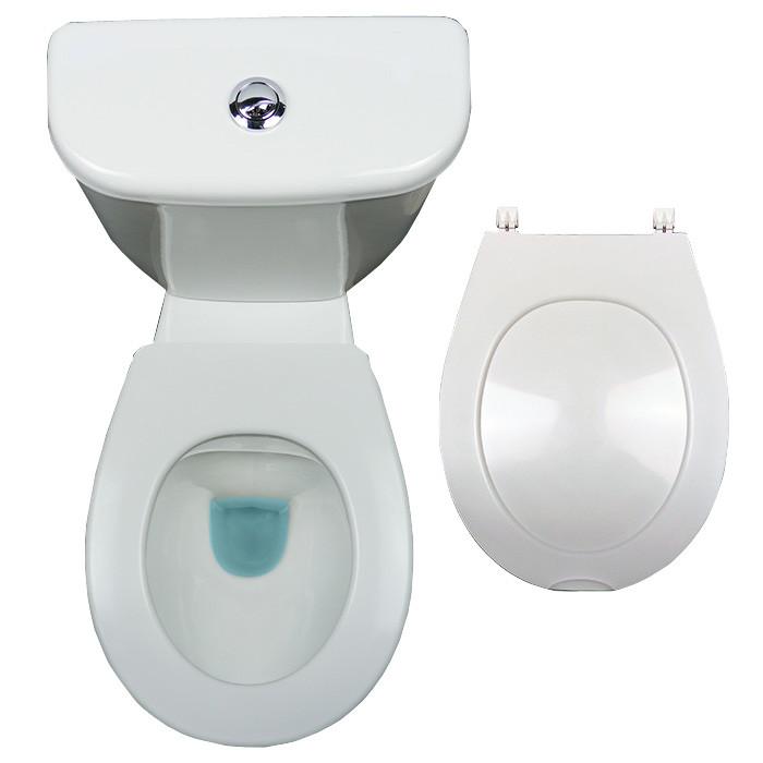 lunette abattant wc clipsable papado 9 couleurs anjou connectique. Black Bedroom Furniture Sets. Home Design Ideas