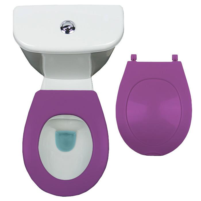 lunette abattant wc clipsable papado 9 couleurs. Black Bedroom Furniture Sets. Home Design Ideas