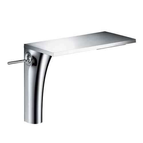 robinet mitigeur lavabo sur lev axor massaud ecosmart hansgrohe chrome robinet lavabo. Black Bedroom Furniture Sets. Home Design Ideas