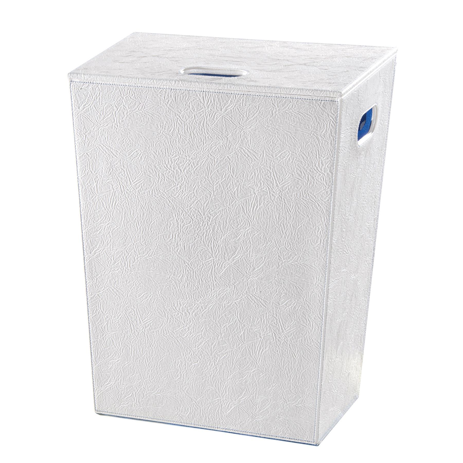 panier linge blanc perle 60cm anjou connectique. Black Bedroom Furniture Sets. Home Design Ideas