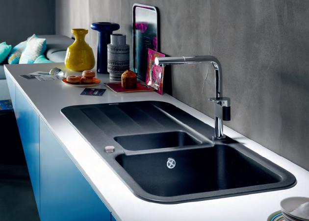evier de cuisine franke pebel fragranit peg651 anjou. Black Bedroom Furniture Sets. Home Design Ideas