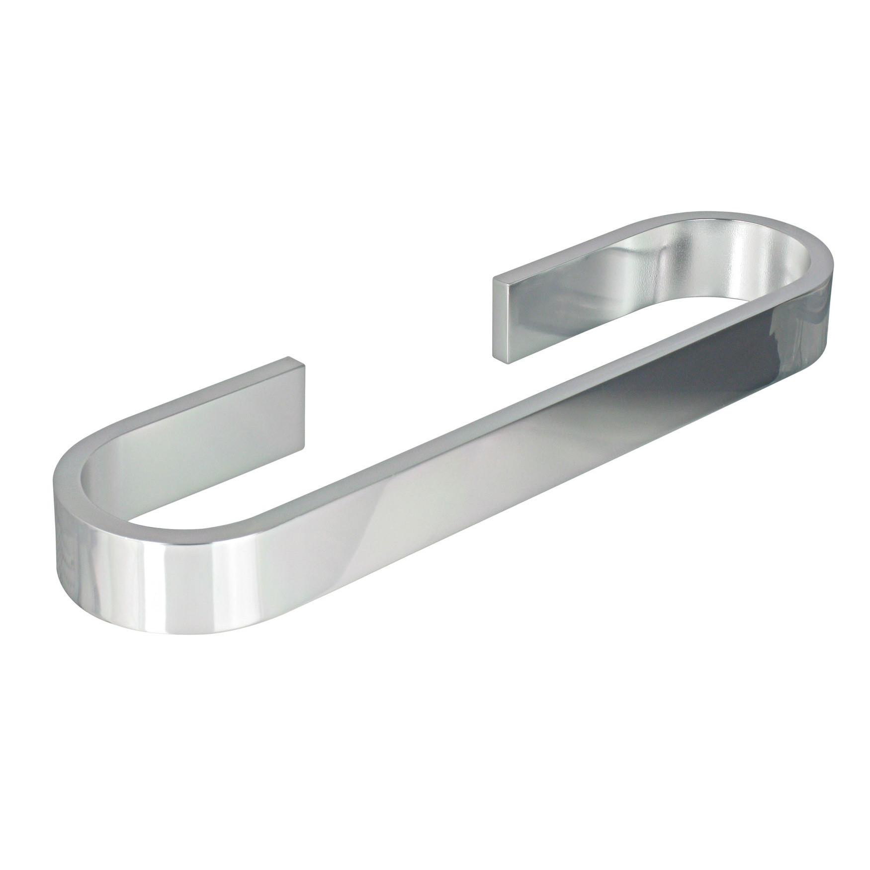 Porte serviette 32cm aluminium materia adh sif 3m - Porte serviette pour porte ...