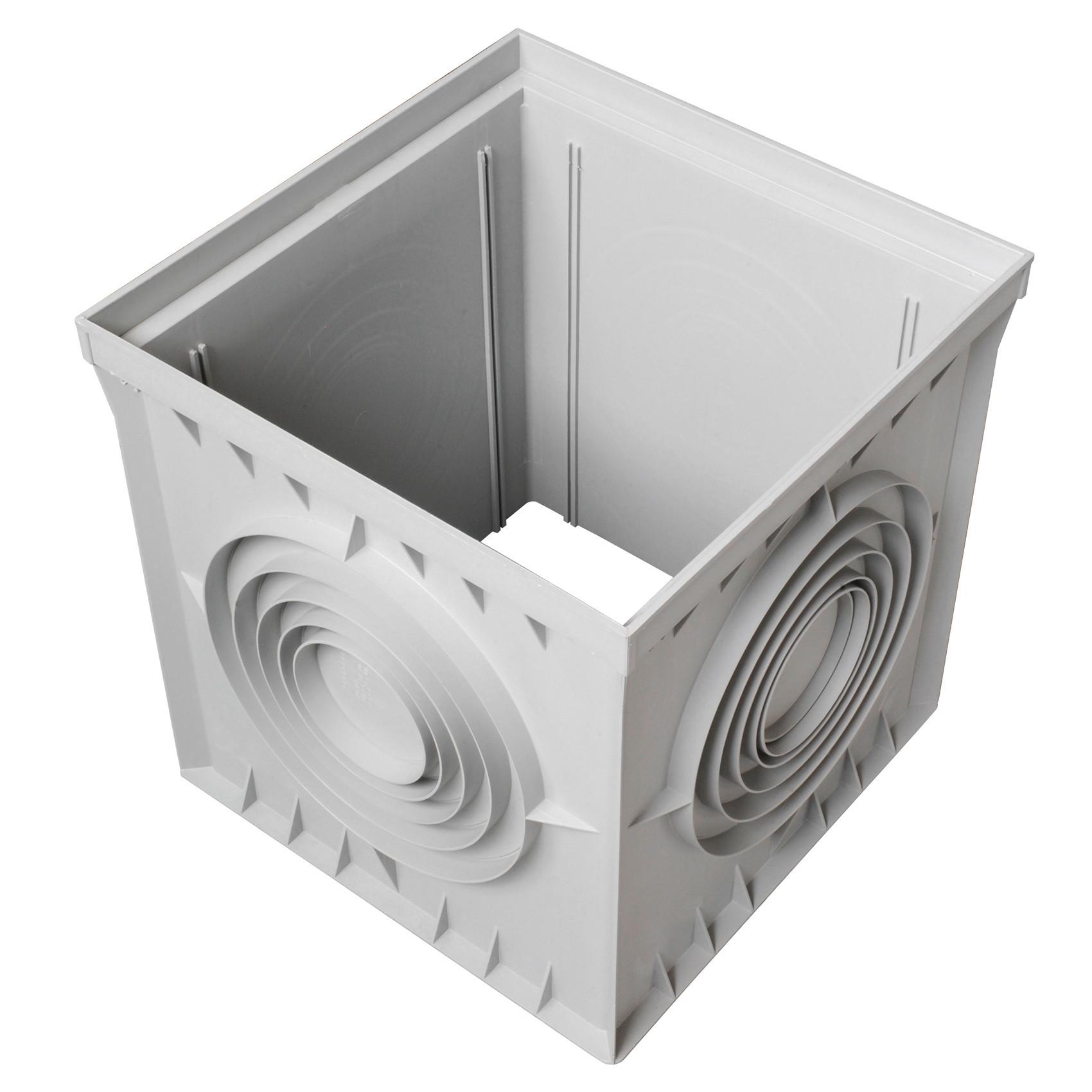 r hausse regard pvc avec sorties multidiam tres first plast anjou connectique. Black Bedroom Furniture Sets. Home Design Ideas