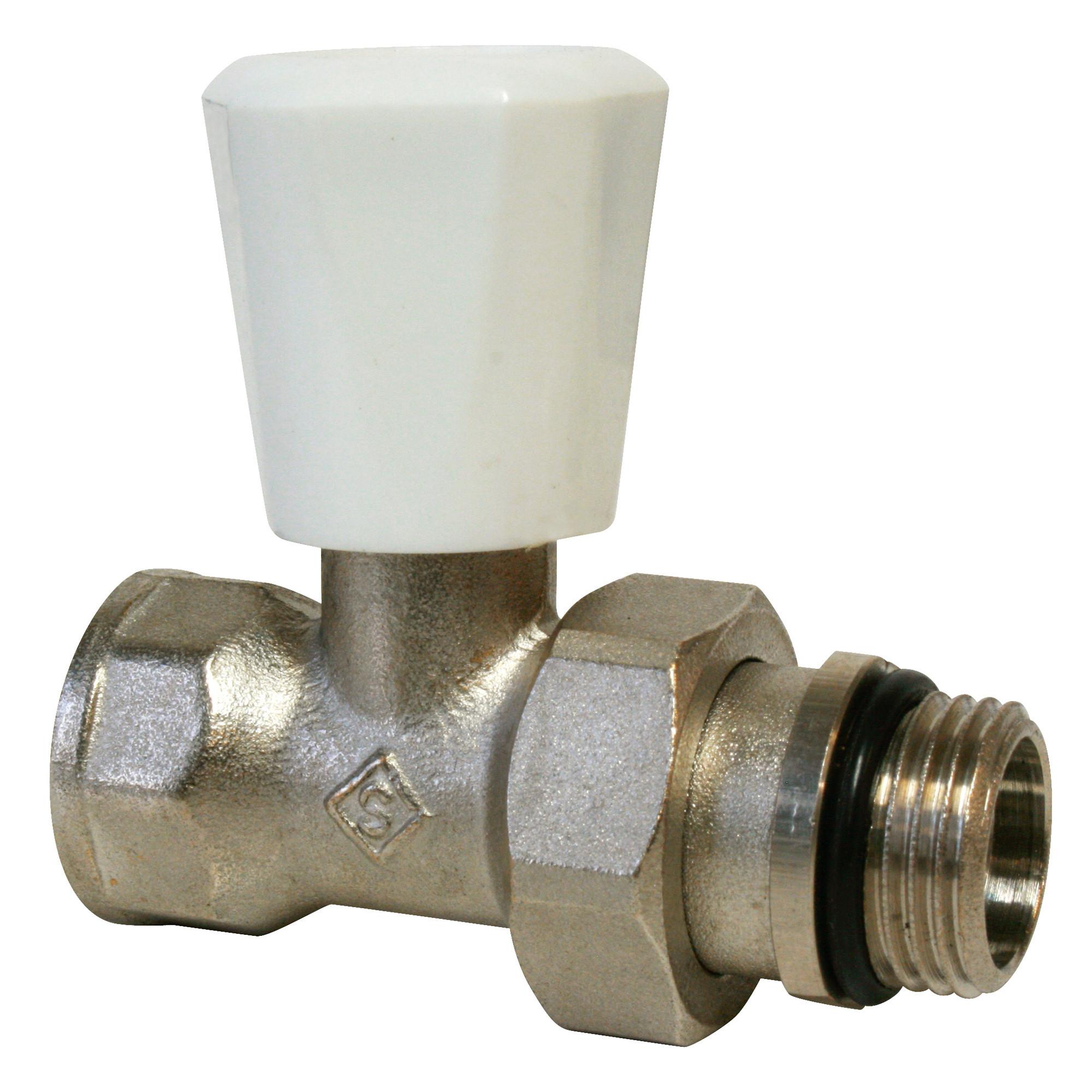 Robinet simple r glage corps droit anjou connectique - Reglage robinet thermostatique ...