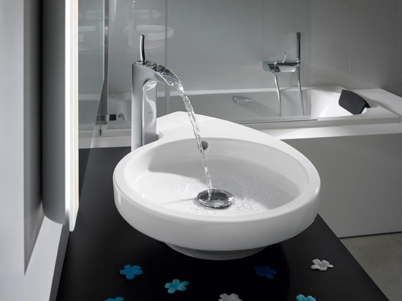 mitigeur lavabo haut serie roca evol robinet lavabo robinetterie sanitaire. Black Bedroom Furniture Sets. Home Design Ideas