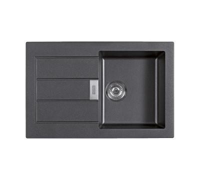 pack vier franke sirius tectonite carbone 1 cuve. Black Bedroom Furniture Sets. Home Design Ideas