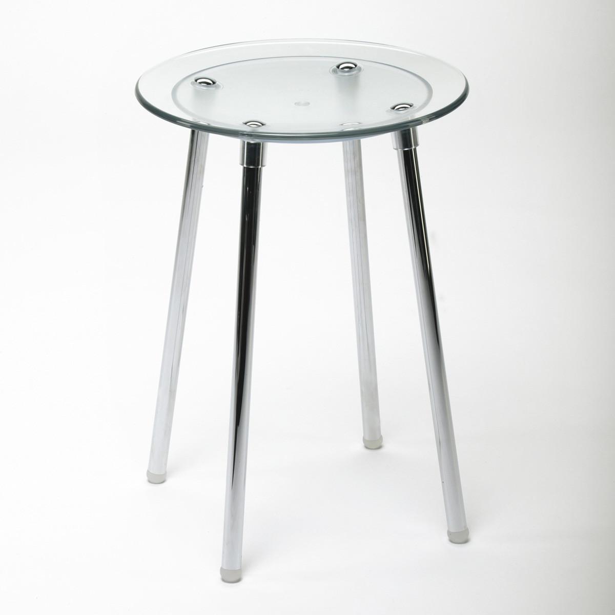 tabouret de douche noni transparent anjou connectique. Black Bedroom Furniture Sets. Home Design Ideas
