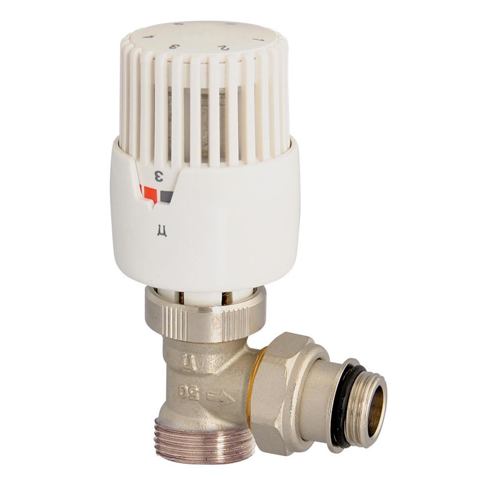 T te thermostatique vt 0 56 corps equerre m le 3 4 ek - Radiateur avec robinet thermostatique ...