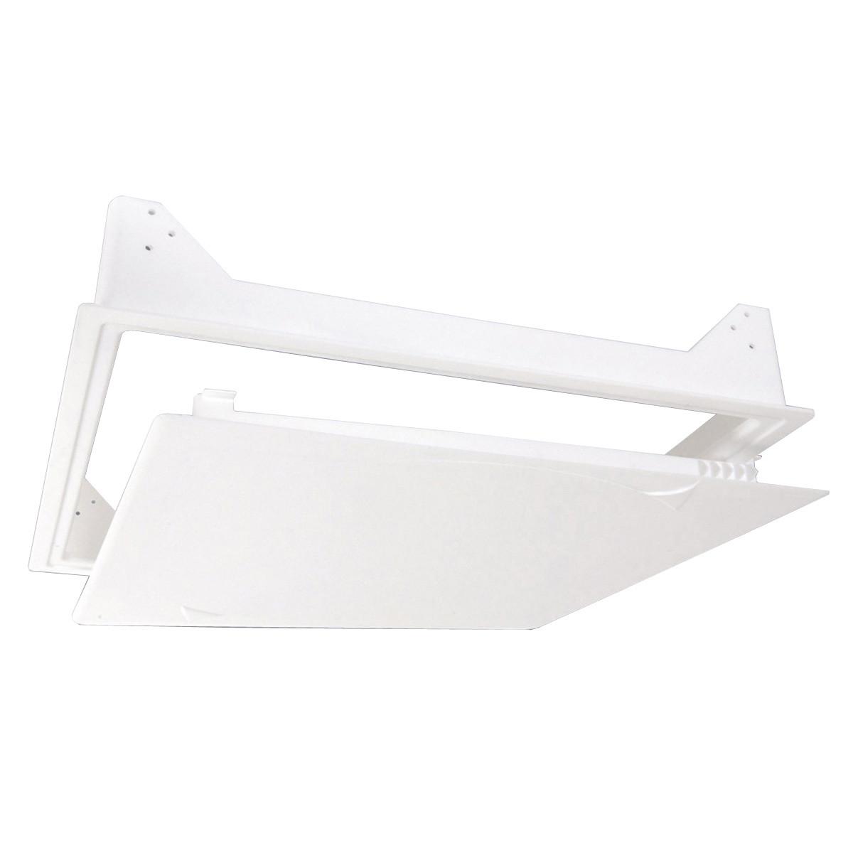 Trappe de plafond blanche non isol e 580x580mm for Trappe de plafond
