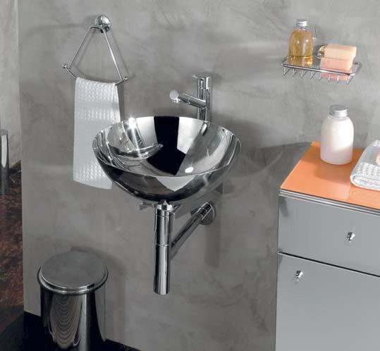 vasque inox poser h15cm 39cm anjou connectique. Black Bedroom Furniture Sets. Home Design Ideas