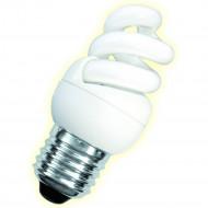 Ampoule éco Fluocompacte Twist spirale - E27 - 9W - 4000K