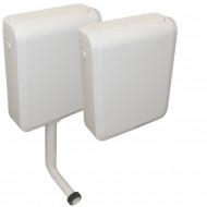 Réservoir wc Duetto attenant ou semi-bas