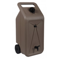 Citerne NOMADE avec récupérateur d'eau 55L - Taupe