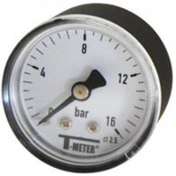 "Manomètre ABS à cadran sec AXIAL Mâle 1/8"" (5/10) - Ø40 - 0 à 6 bars - Sferaco"