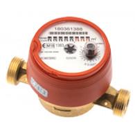 """Compteur divisionnaire eau chaude pré-équipé télérelevage - 1"""" (26x34) - Classe MID R100 - PN16 - Sferaco"""