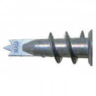 50 chevilles RAMTWIST métalliques autoforeuses